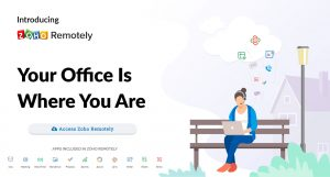 Zoho Remotely: Το γραφείο σου είναι εκεί που βρίσκεσαι κάθε στιγμή!