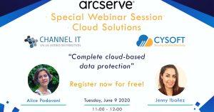 Special Webinar Session – Arcserve Cloud Solutions
