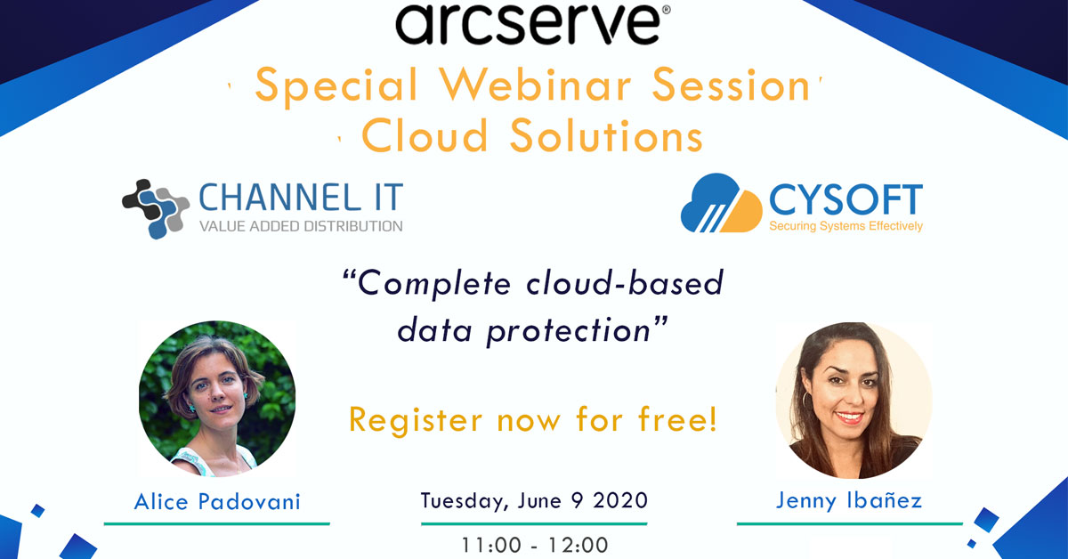 Special Webinar Session – Arcserve Cloud Solutions
