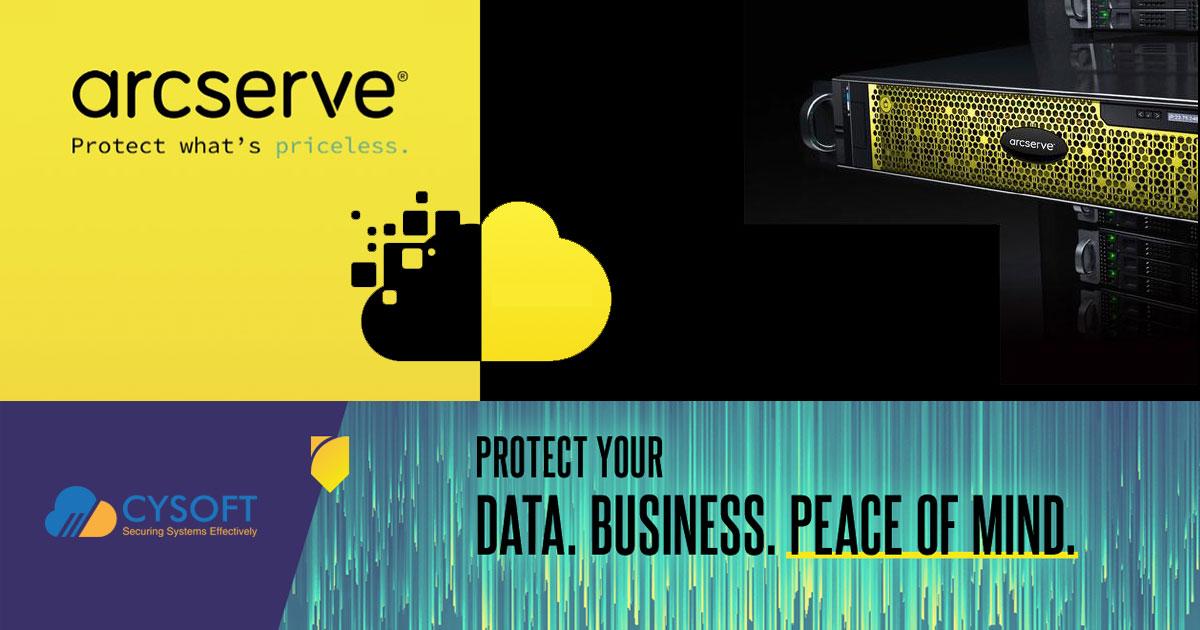 Οι νέες λύσεις ασφάλειας της Arcserve διαθέσιμες από την Cysoft